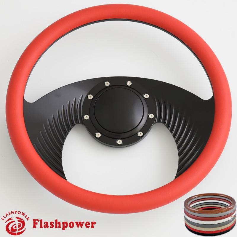 14 Billet Steering Wheels Half Wrap Custom Chevy Ididit Flamingriver