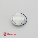 Horn Button for 9 bolt Steering Wheels,Small Satin