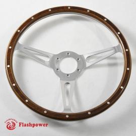13'' Laminated Wood Steering Wheel