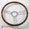14'' Classic  Wood Steering Wheel