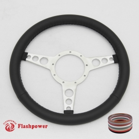 """14"""" Classic wrapped Steering Wheel 9 bolt"""