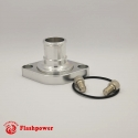 Billet Swivel Thermostat Housings Water NecK Chevy 0 Degree 1.25''