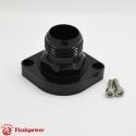 BilletSwivelThermostatHousingsWaterNecK20AN LS Engine Black
