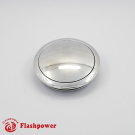 Horn Button for 9 bolt Steering Wheels,Small Polished