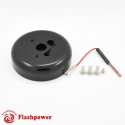 6032B  Flashpower 3 Bolt Steering Wheel Adapter Boss Kit For GM Chevy Buick Pontiac Jeep 69-94 Black