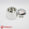 GM Chevy steering wheel adapter 6 bolt Billet Polished