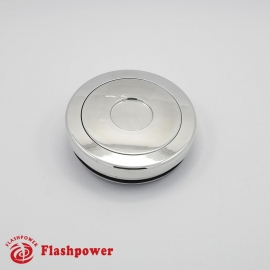 Horn Button for 9 bolt Steering Wheels,Polished
