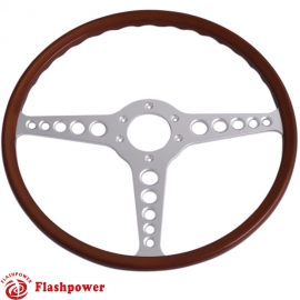 15'' Jaguar E-type Reproduction Original Steering Wheel
