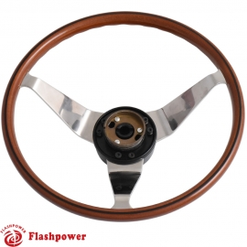 14'' Opel GT Reproduction Original Steering Wheels'Black line'