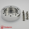"1"" Steering Wheel Hub Adapter Conversion Spacer Polished"
