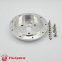 "1"" ConversionSpacer3 Hole hub to 9 hole wheel Polished"