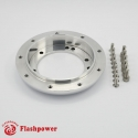 """Steering Wheel Hub Conversion Spacer 3/4"""" 9 hole to 6 hole Polished"""