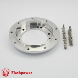 "0.5"" Steering Wheel Hub Adapter Conversion Spacer Polished"