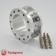 "1.5"" Steering Wheel Hub Adapter Extension Spacer Polished"