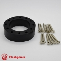 "1.0"" Steering Wheel Hub Adapter Extension Spacer Black"