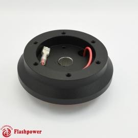 Steering Wheel Short Hub Adapter Billet Black for Acura Honda