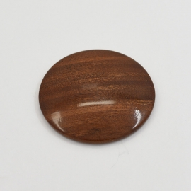 Steering Wheel Horn Button Central Push Walnut Wood
