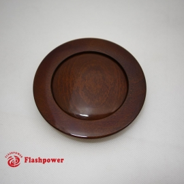 Horn Button for 9 bolt Steering Wheels,Big Wood Walnut