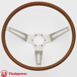 15'' GM Muscle Car Wood Steering Wheel