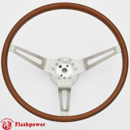 Flashpower Gm Classic Leather Steering Wheel Restoration Muscle Car