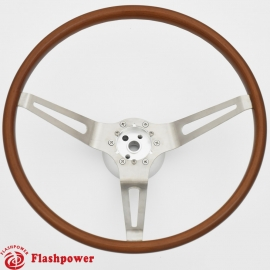 15'' GM Muscle Car Wood Steering Wheels with Adapter