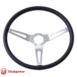 15'' GM Muscle Car Leather Steering Wheel