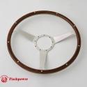 15'' Laminated Wood Steering Wheel