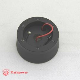 Steering wheel short hub adapter Billet Black for VW Audi