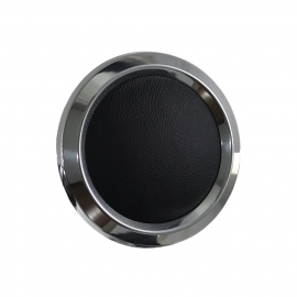 Color Match Horn Button for 9 bolt Steering Wheels,Polished