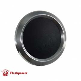 Color Match Horn Button for 9 bolt Steering Wheels, Satin