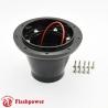 Flashpower steering wheel adapter 9 bolt Billet Black
