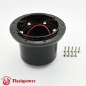 6306B  Flashpower Steering Wheel Adapter AUSTIN Sprite MG MGB Midget  Black