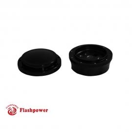 Flashpower Steering Wheel Short Adapter 9 bolt and Horn Button  for GM Chevy Black