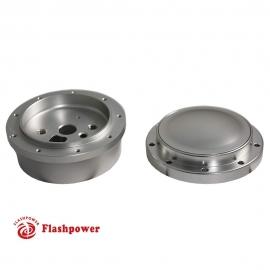 Steering wheel short hub adapter Billet Satin for GM