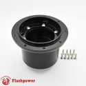 6307B  Flashpower Steering Wheel Adapter Boss Kit For MG MGB 77-80 GT and Roadster 1973-76 Black