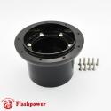 6308B  Flashpower Steering Wheel Adapter AUSTIN Sprite MGA MGB MGC Midget Black