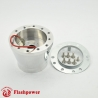 Flashpower steering wheel adapter 6 bolt Billet Polished