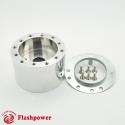 6368A  Flashpower Steering Wheel Adapter Boss Kit For AUSTIN Sprite MGA MGB MGC Midget 62-69 Polished