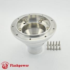 6395A Flashpower Steering Wheel Adapter Boss Kit For Austin Mini MK1-2-3 Morris Minor Riley 59-65 Polished
