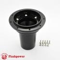 6396B Flashpower Steering Wheel Adapter Boss Kit For Jaguar E type XJ6 XJ12 Daimler 68-74 Black