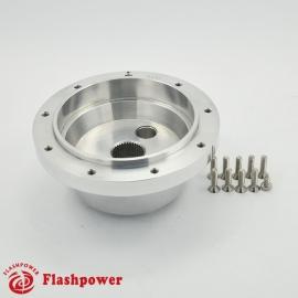 6404A  Flashpower Steering Wheel Adapter Boss Kit For VW Transporter Kombi T2 Type 2 1968-74 Polished