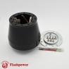 Flashpower steering wheel adapter 6 bolt Billet Black for Audi VW Beetle