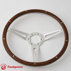 "14"" GM Classic Wood Steering Wheel Direct Fit Restoration Muscle Car"