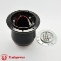 6592B  Flashpower Steering Wheel Adapter Boss Kit For VW Beetle Bug Audi Coupe 80-87 Porsche 911 924 944 Black