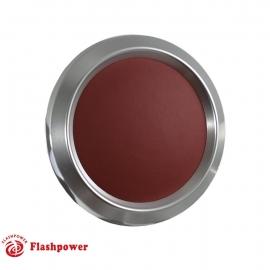 Color Match Horn Button Satin w/Burgundy Wrap