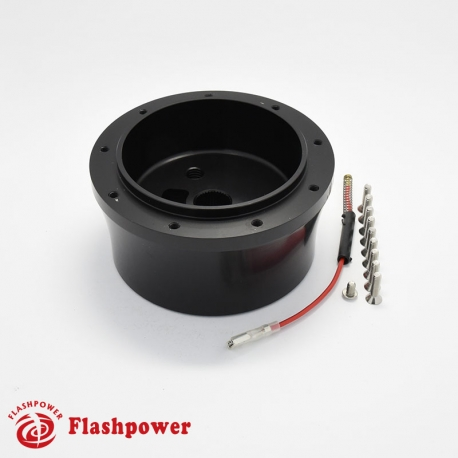 Flashpower steering wheel adapter original reproduction for GM Chevy Clear