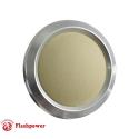 Billet Aluminum Steering Wheel Horn Button Tan Leather Satin