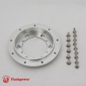 """1/2"""" Satin Steering Wheel Spacer Kit for 9 hole Steering Wheel to 6 hole Adapter"""