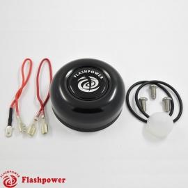 Horn Button for 3 bolt Steering Wheels,Black