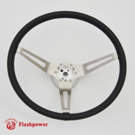15'' GM Muscle Car Leather Steering Wheel with adapter